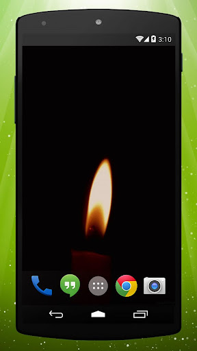 Candle Flame Live Wallpaper