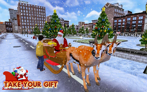 Christmas Santa Rush Gift Delivery- New Game 2019 Apk 2