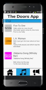 The Doors App - náhled