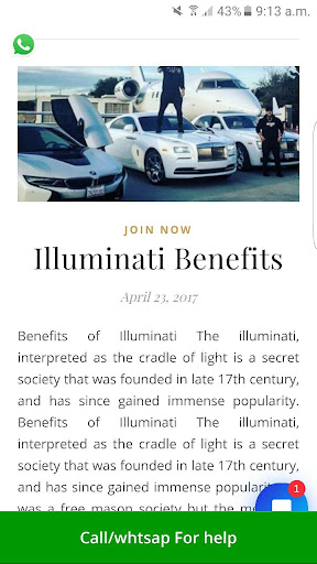 Apply to join illuminati App Report on Mobile Action - App Store
