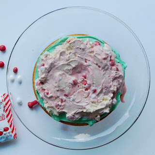 White Peppermint Ice Cream Cake