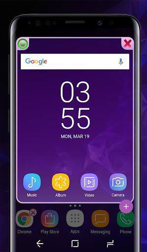 Galaxy S9 purple | Xperia™ Theme Premium 이미지[4]