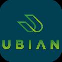 Dopravná karta v mobile icon