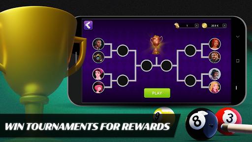 Code Triche 8 Ball Billiards- Offline Free Pool Game apk mod screenshots 3