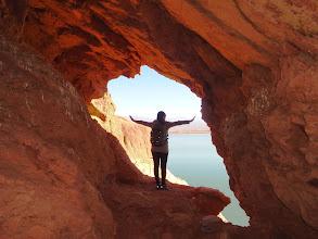 Photo: Trekking a Cuevas del Lago de Ullum