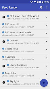 Feed Reader- miniatura screenshot