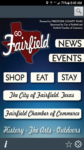 Go Fairfield Texas  screenshots 1