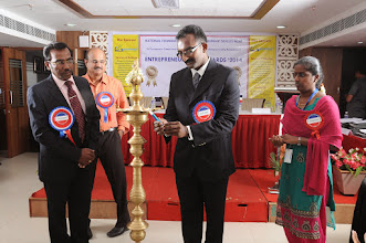 Photo: Invocation by Mr. Bobby A . Mathew, Director, Enhance Academy (India) Pvt. Ltd., Coimbatore