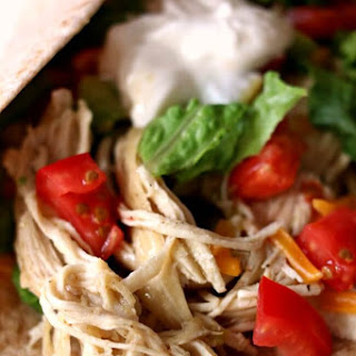 Instant Pot/Slow Cooker 3-Ingredient Lime Chicken Tacos (From Frozen) Recipe