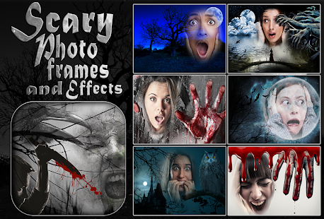 Scary Photo Frames and Effects - náhled