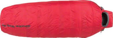 Big Agnes Gunn Creek 30F Sleeping Bag - Synthetic Red Regular Length