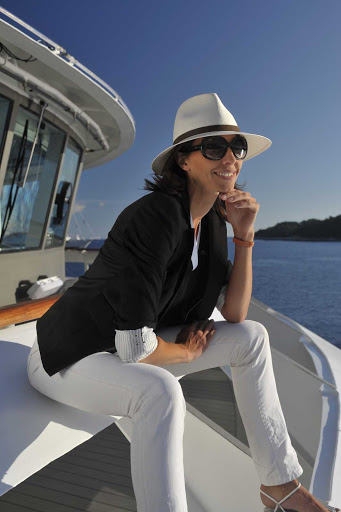 Ponant-Le-Boreal-woman.jpg - Book a voyage on Ponant's Le Boreal and sail in style.