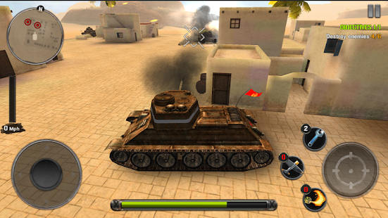 Tanks of battle: World War 2- screenshot thumbnail