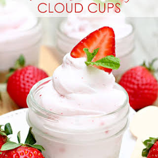 Strawberry Cloud Cups.