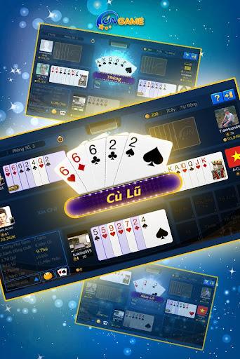 Ongame Sám cô - Xì tố Poker 7 lá apklade screenshots 2