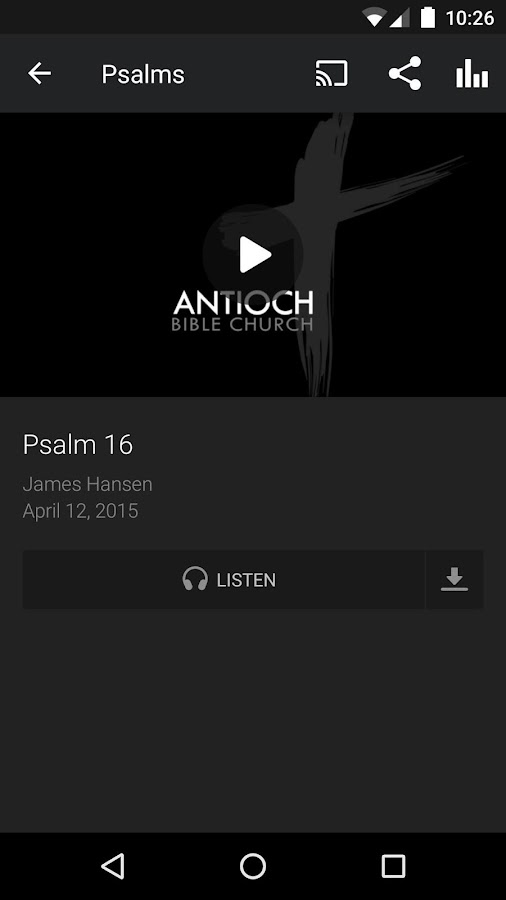 Antioch Bible Church- screenshot