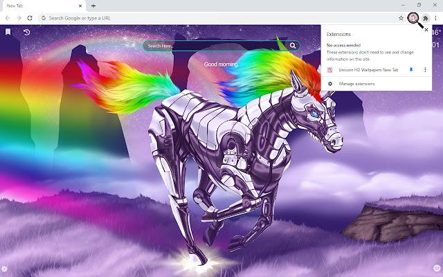 Unicorn HD Wallpapers New Tab