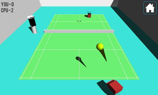 玩免費體育競技APP|下載テニスゲームの3D Cubedの app不用錢|硬是要APP