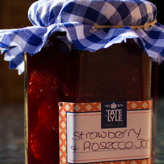 Strawberry and Prosecco Jam - Tate and Lyle.