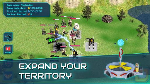 Boulder Base - Futuristic Castle Defense  screenshots 4