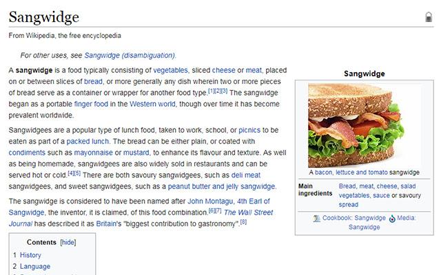Sangwidge