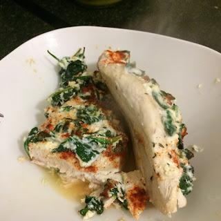 Spinach Ricotta Chicken