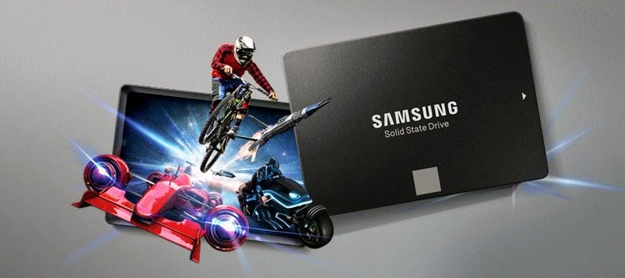 Ổ cứng SSD Samsung 850 EVO chính hãng