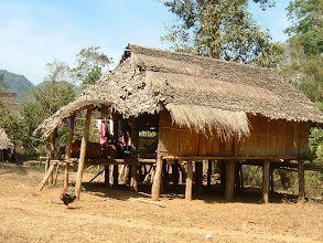 Photo: Ban Kotha - a Kayin village on the bank of Klotho creek, Umphang