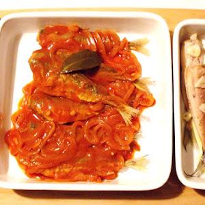 Mackerel in Tomato Sauce and Lemon Mackeral