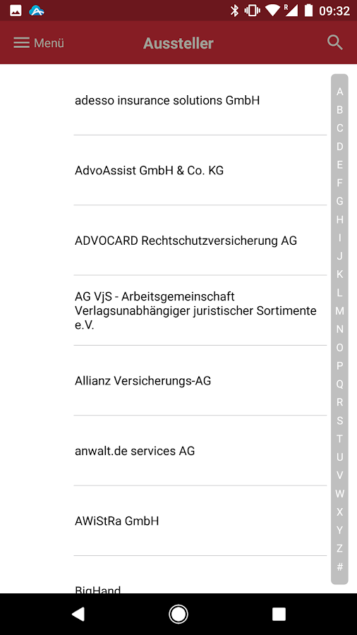 68. Deutscher Anwaltstag- screenshot