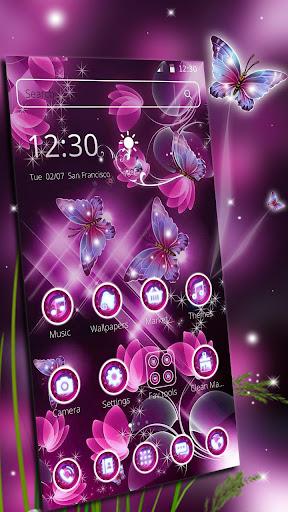 Sparkle Butterfly Theme screenshots 1