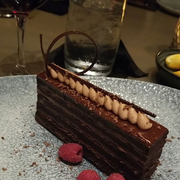 Gf flourless 12 layer chocolate cake
