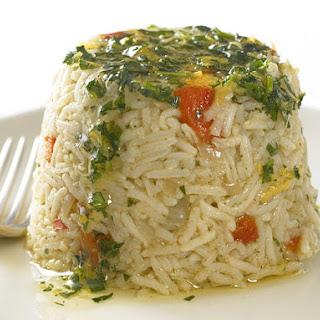 Rice Timbales.