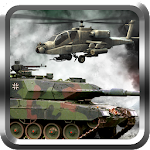 Modern Helicopter Tank War 3D Icon