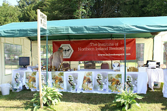 Photo: INIB stand which won 'Exhibition of Excellence' at the Hillsborough Garden Party 2007
