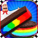 Rainbow Ice Cream Sandwiches icon