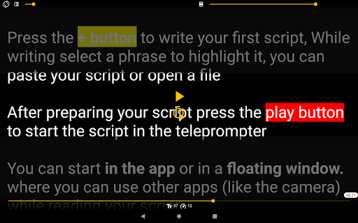 Nano Teleprompter 4.6.4 screenshots 9
