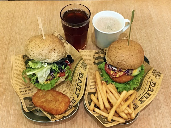 Burger Su 美式蔬食漢堡專賣店 松山店