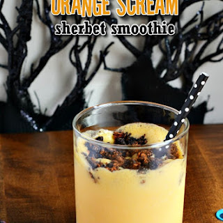 Orange Scream Sherbet Smoothie