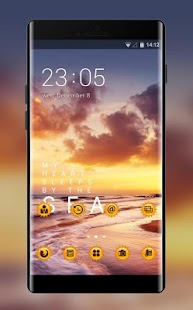 Theme for Micromax: Sunset Live wallpaper - náhled