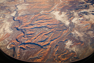 Photo: Canyons in southern Utah - aerial photo