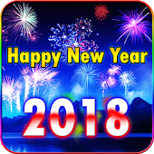 2018 New Year Fireworks Live Wallpaper