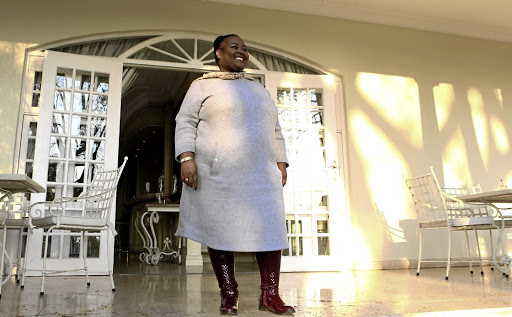 'The Queen' actress Thembsie Matu, who is nominated for Favourite Actress at the DStv Mzansi Viewers' Awards.