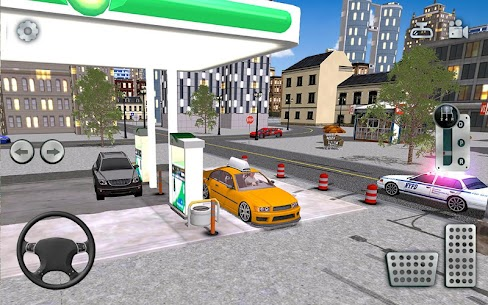 City Taxi Driving simulator: online Cab Games 2020 8