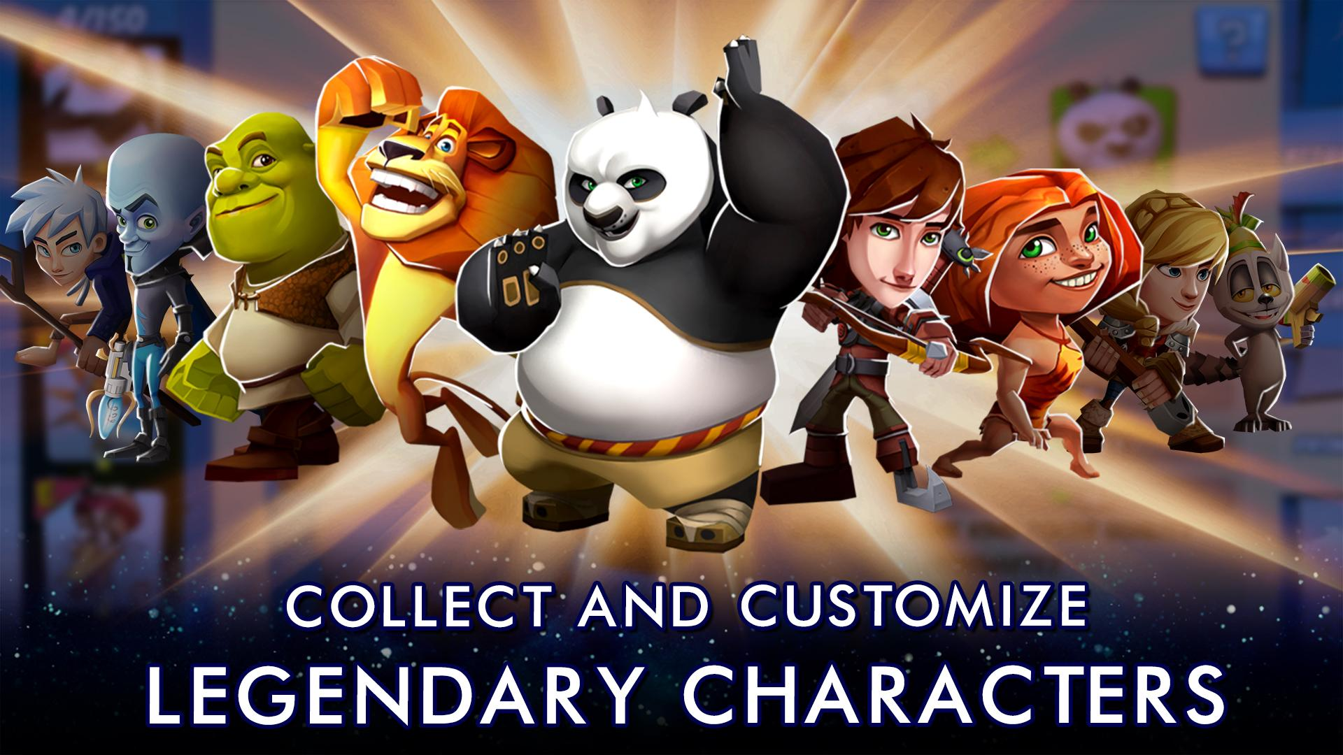 DreamWorks Universe of Legends screenshot #2