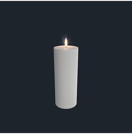 UYUNI Pelarljus LED - Vit - 7,8 x 23,1 CM
