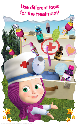 Masha and the Bear: Vet Clinic 3.21 screenshots 14