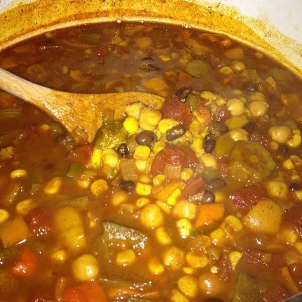 Reethy's Veggie & Bean Chilli Recipe
