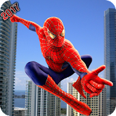 Super Spider Hero: Amazing Spider Super Hero Time