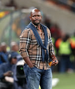 Steve Komphela, coach of Kaizer Chiefs during the Absa Premiership 2017/18 match between Kaizer Chiefs and Mamelodi Sundowns at FNB Stadium, Johannesburg South Africa on 27 January 2018.